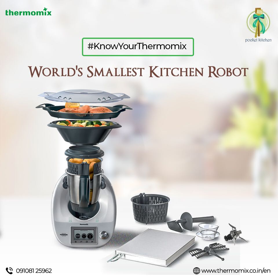 It Was Early On A Lazy Sunday Morning As We Headed Out To The Office Of  Thermomix India To Get An Overview Of This Product, Its Capabilities And In  The Hope ...