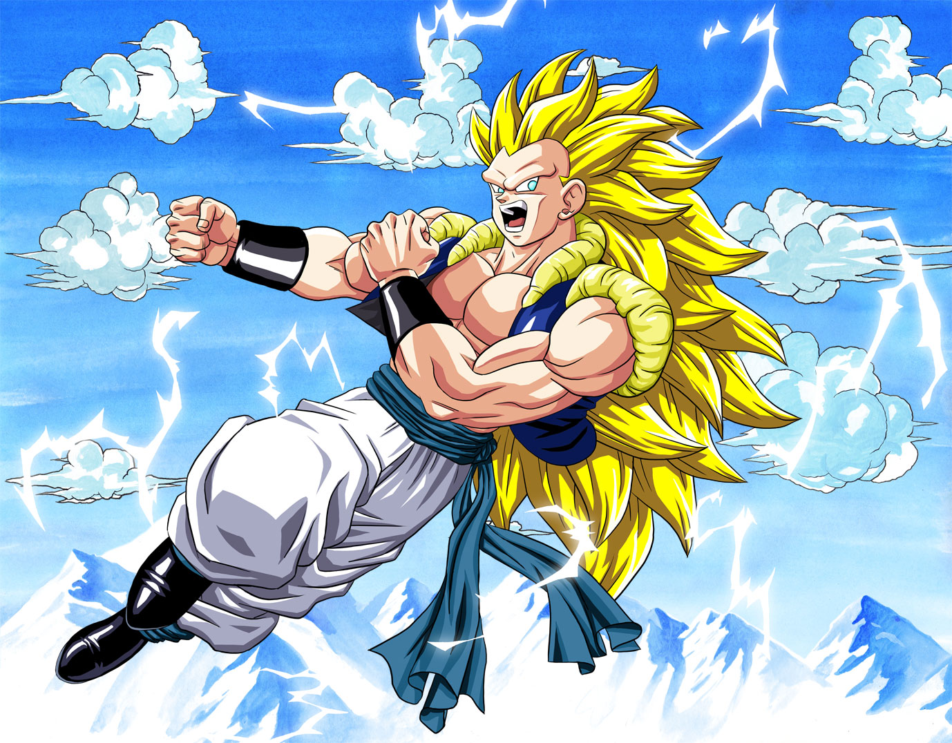 Dragon Ball Z Wallpapers Gotenks Super Saiyan 3