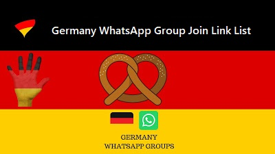 Germany WhatsApp Group Join Link List 2018-2019 | Tarun