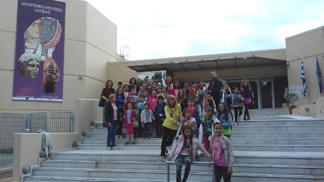 Τα ΚΔΑΠ του Δήμου Λαρισαίων γιορτάζουν τη Διεθνή Ημέρα Μουσείων 2017 στο Διαχρονικό Μουσείο