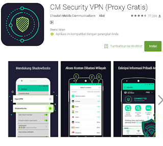 Ulasan Secara Lengkap CM Security VPN
