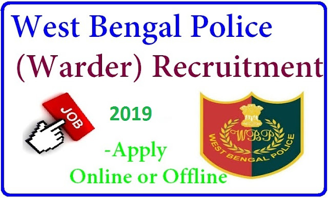 Apply Online for West Bengal (WB) Police – Latest Govt Job 816 Warder/Female