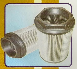 Strainer air filter