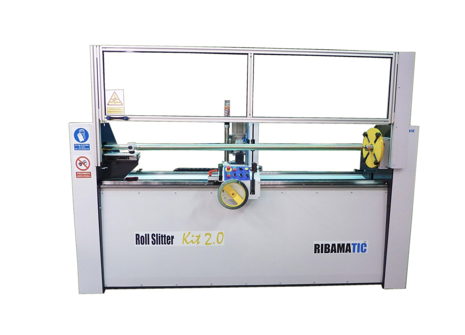 Ribamatic Roll Slitter Roll Slitting Machines Foils