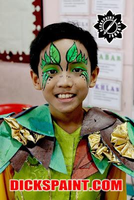 Face Painting Leaf Kids Jakarta