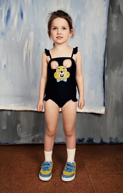 Bañador Ratón de Mini Rodini