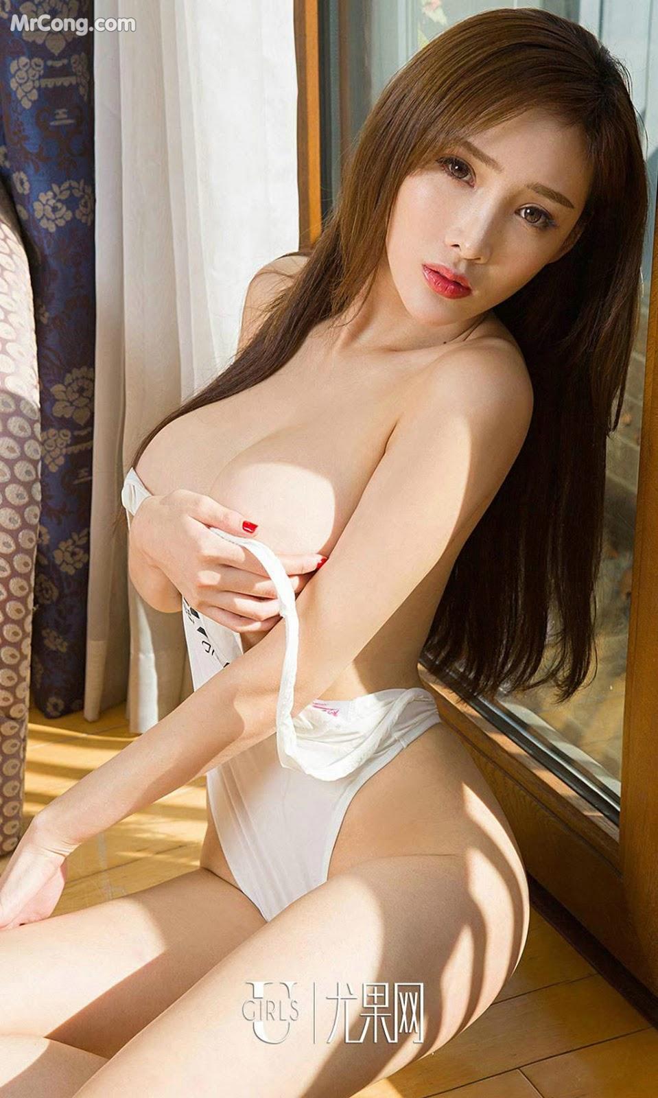 Image UGIRLS-Ai-You-Wu-App-No.875-Zhou-Yan-Xi-MrCong.com-008 in post UGIRLS – Ai You Wu App No.875: Người mẫu Zhou Yan Xi (周妍希) (40 ảnh)