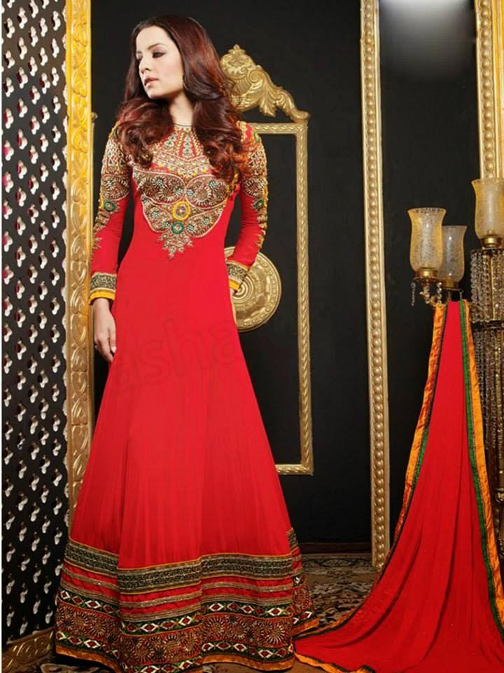 New Pakistani Bridal Dress Designs 2015-2016