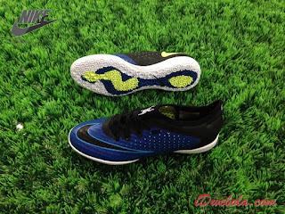 Sepatu Futsal Nike Elastico Finalle II IC - Biru
