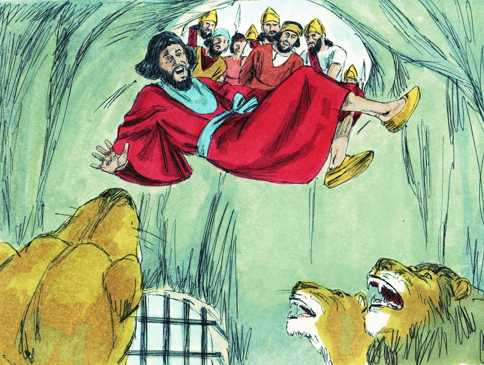 Bible Fun For Kids: 3.11. Daniel in the Lion\'s Den