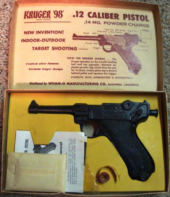 Kruger Toy Pistol With Box