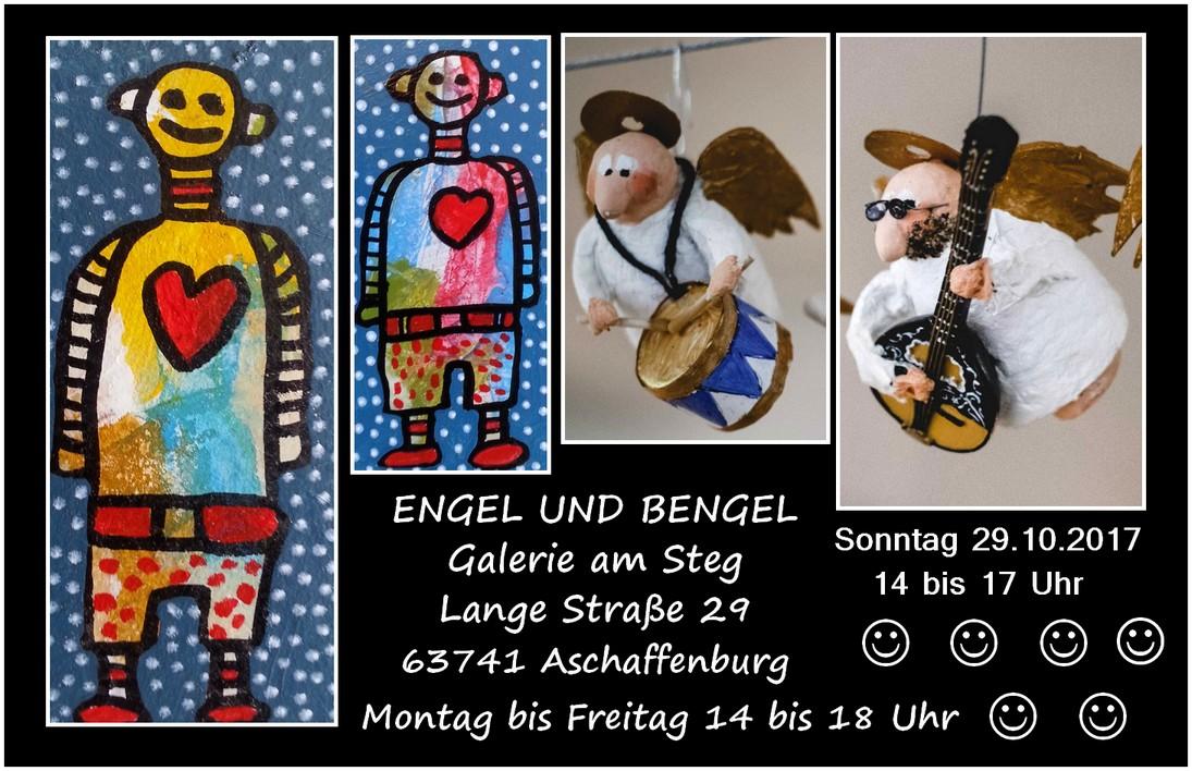 Engel Und Bengel aschaffenburger künstler 567 engel und bengel in der galerie am steg