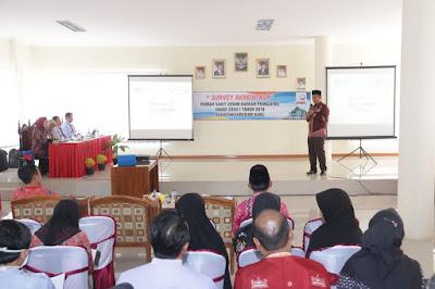 Pasca Dikunjungi Tim Akreditasi, RSUD Pringsewu Nyatakan Siap Memberi Pelayanan Lebih Optimal