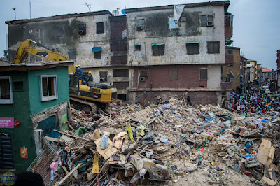 8 Confirmed Dead, 15 Rescued As Building Collapses In Lagos Island 5