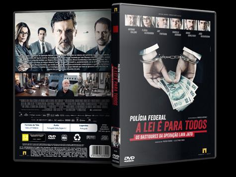 Capa DVD Polícia Federal: A Lei é Para Todos [Custom]