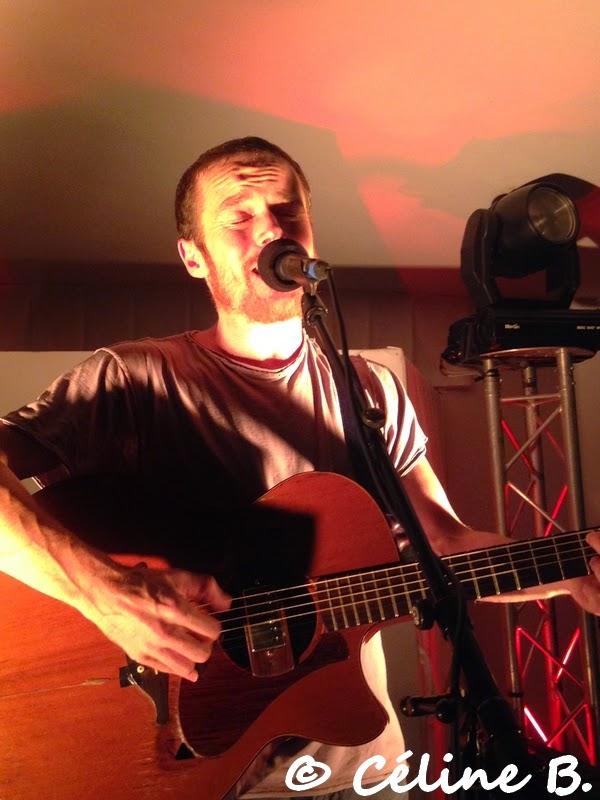 Showcase privé de Damien Rice au Chalet des Îles