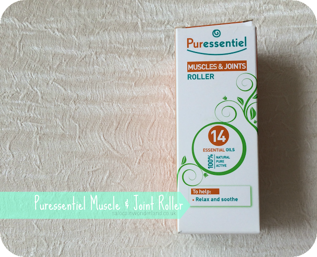 puressentiel muscle and joint roller review