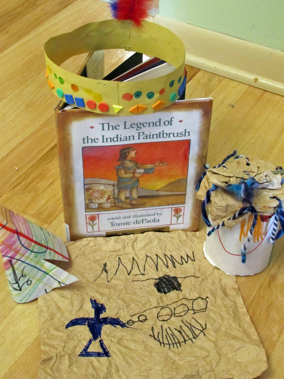 Home Preschool Native American Unit