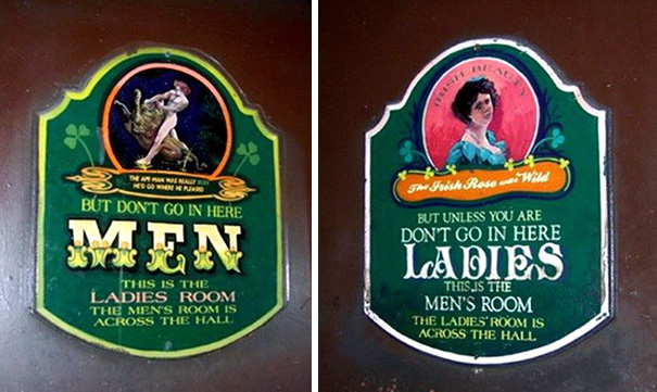 20+ Of The Most Creative Bathroom Signs Ever - Bathroom Signs