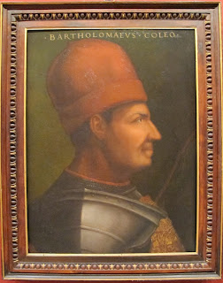 A portrait of Bartolomeo Colleoni
