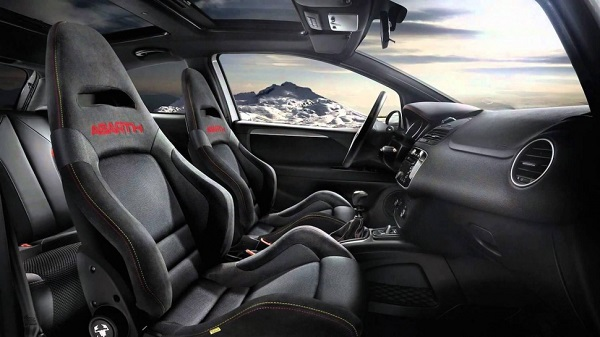 Interior Fiat Abarth 595 Turismo