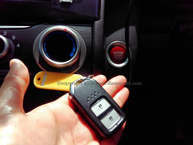 Smart Key untuk Honda Jazz