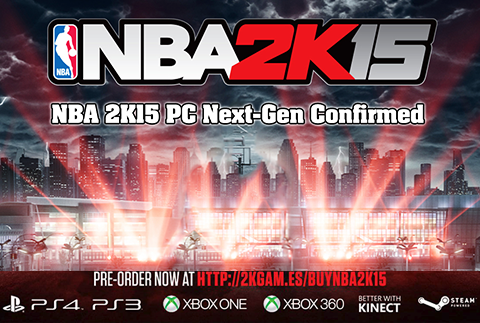 NBA 2K15 PC Confirmed As Next-Gen Version