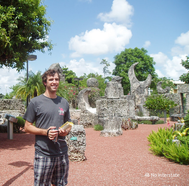 48 No Interstate: Our Favorite Highways:  US 1 - Coral Castle in Homestead, FL