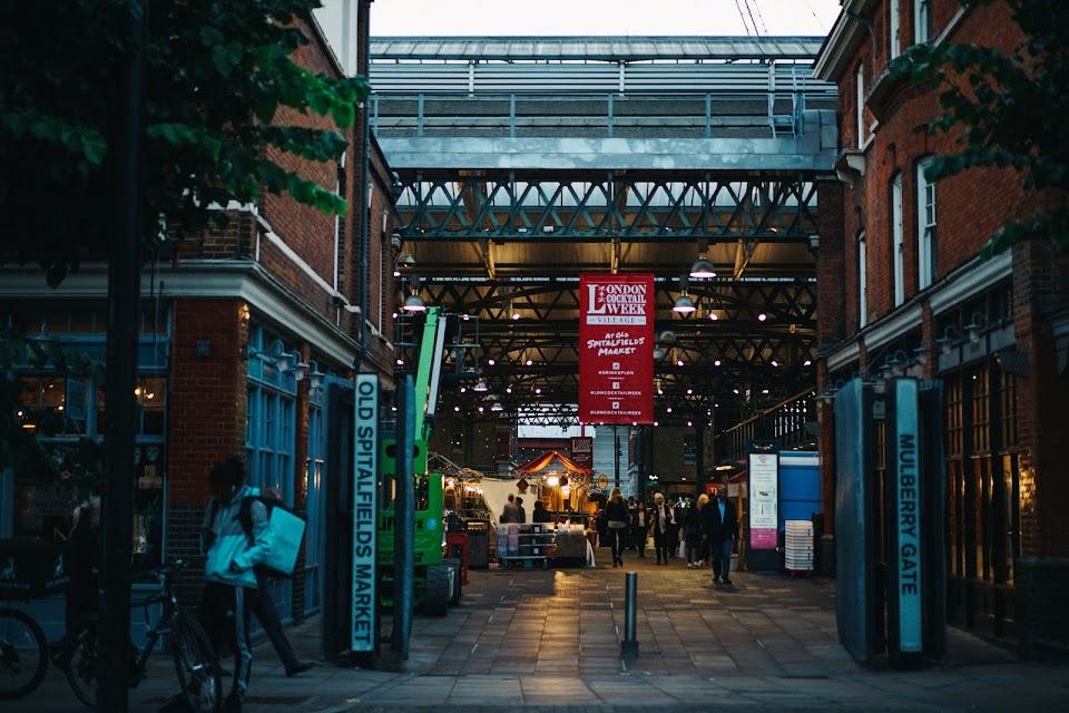 オールド・スピタルフィールズ・マーケット(Old Spitalfields Market)