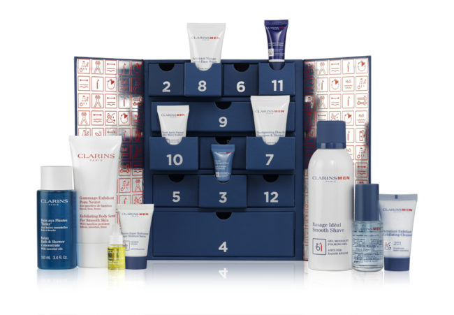 Clarins For Men Advent Calendar 2017 12 Days Your Beauty