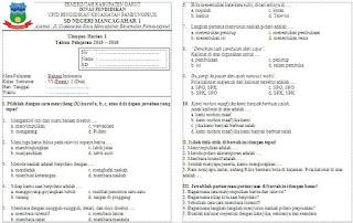 Soal Ulangan Harian (UH) Bahasa Indonesia Kelas 6 Semester 2
