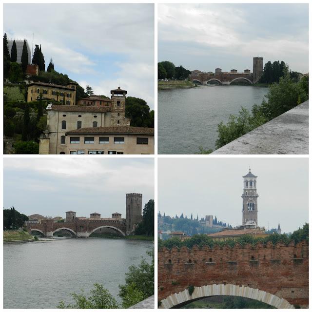 Um dia em Verona -  Rio Adige