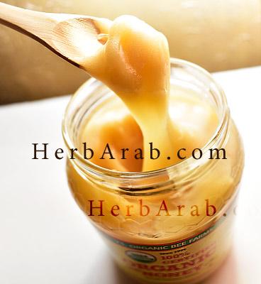 شكل وطعم العسل الاصلي الخام من اي هيرب الامريكي