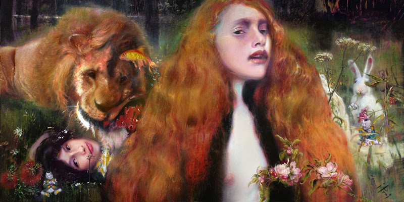 Paintings by Iva Troj from Brighton, UK.