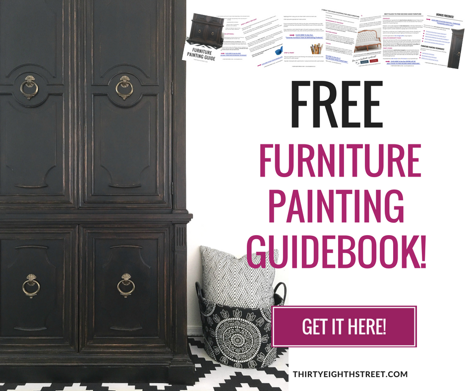 Furniture Refinishing Guide Sign Up, Painting Furniture Guide, How To Paint Furniture, Advanced Painting Techniques