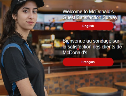 McDonalds Guest Satisfaction Survey Get Free Product Coupons