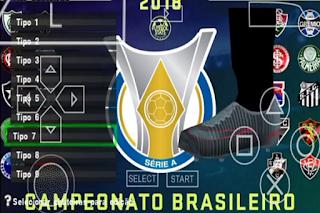 PES 2018 Mod 2019 BRASILEIRÃO