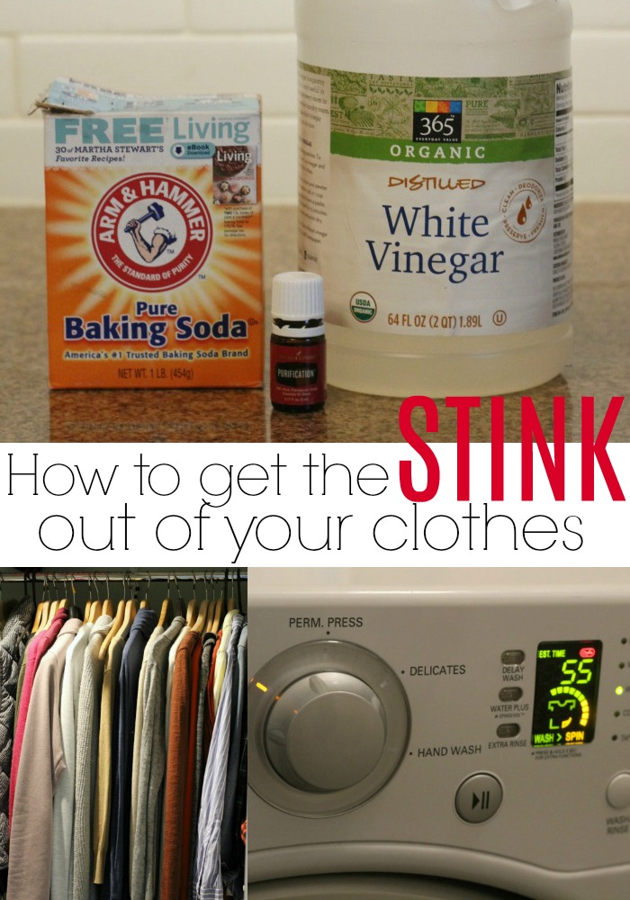 If you've ever left your clothes in the washer too long or have stinky workout clothes, use this simple trick to get them smelling fresh again