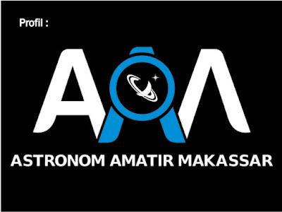Logo Astronom Amatir Makassar