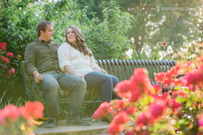 Woody & Pearl Photography: Shelby and Zack Engagement at Liberty Gardens