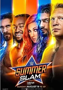 WWE SummerSlam 2018 PPV HDTV 480p 800Mb x264