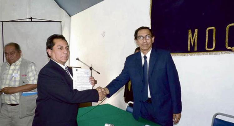 Polémico Gerente de Educación en Arequipa fue cuestionado en Moquegua (Guido Alfredo Rospigliosi Galindo)