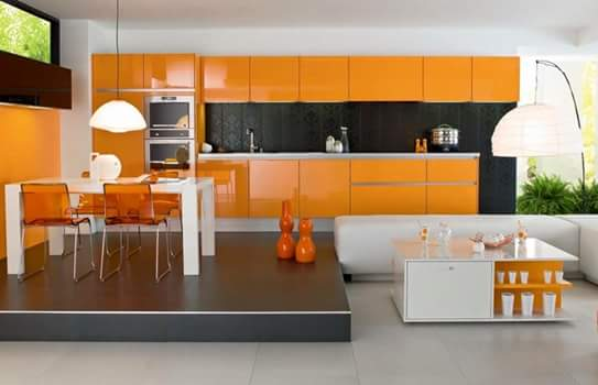 contoh kitchen set minimalis modern