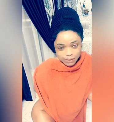 WTF!!! Bobrisky finally shares his nude on his instagram page, shows off his butt in bathroom shower