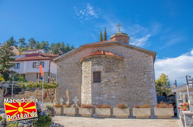 Црква Успение на Пресвета Богородица - Охрид, Македонија