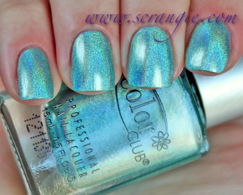 Scrangie Color Club Halo Hues Holographic Nail Polish Collection Spring 2013 Swatches And Review
