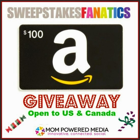Enter the SweepstakesFanatics Amazon Gift Card Giveaway. Ends 1/17/15