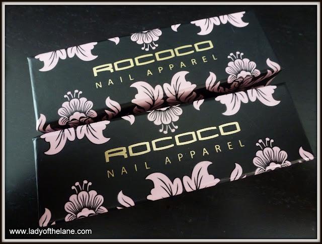 Rococo Nail Apparel Blues