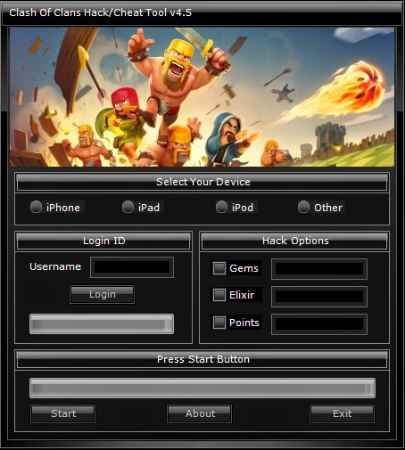 clash of clans android hack