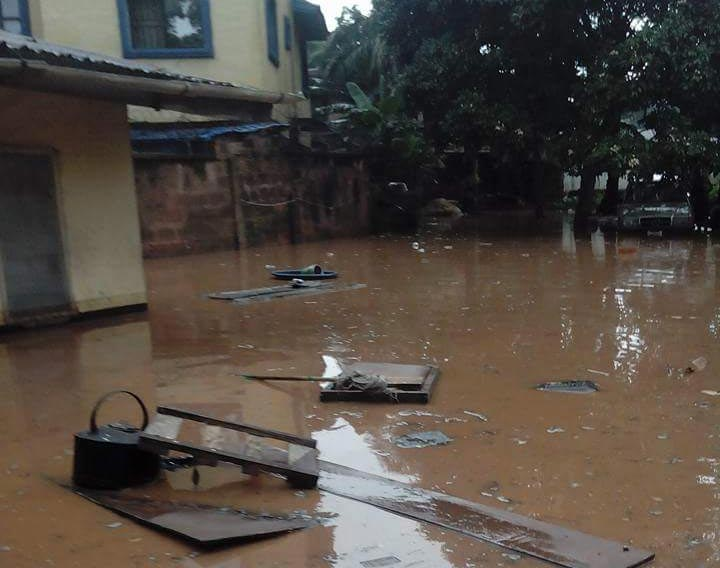 Photos: See what rain did to a household in Anambra